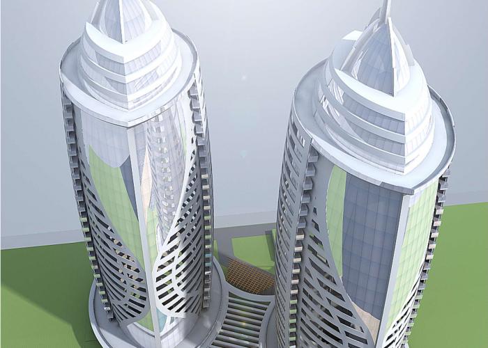 Proposed Naurus Towers, Mombasa